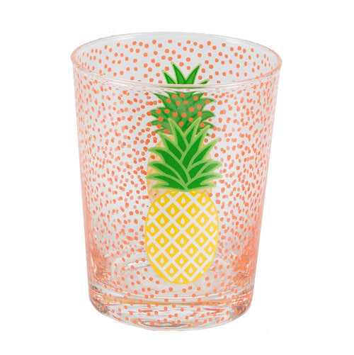 Sass & Belle Pineapple Glass Tumbler