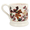 Emma Bridgewater Red Wallflowers 1/2 Pint Mug