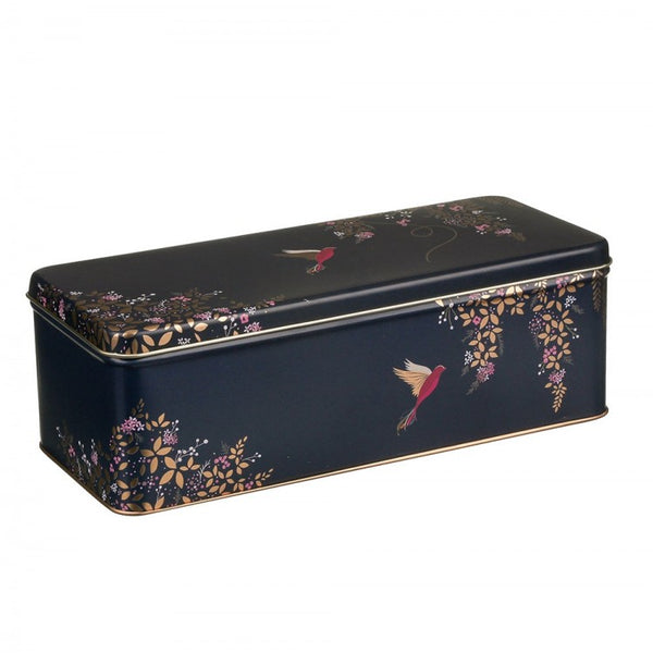 Sara Miller Hummingbirds Long Rectangular Tin