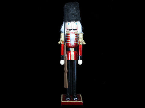 Large Wooden Nutcracker Christmas Ornament