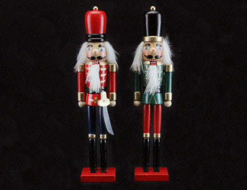 Small Nutcracker Christmas Ornament