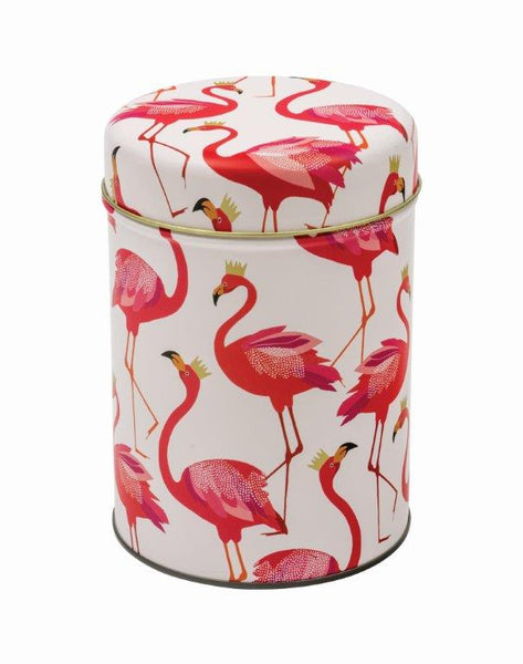 Sara Miller Flamingo Tin Caddy