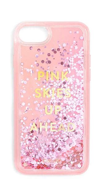 Ban.do Glitter Bomb iPhone Case - Pink Skies Up Ahead
