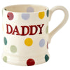 Emma Bridgewater Polka Dot Daddy 1/2 Pint Mug (Boxed)