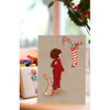 Belle & Boo Christmas Stocking Christmas Card