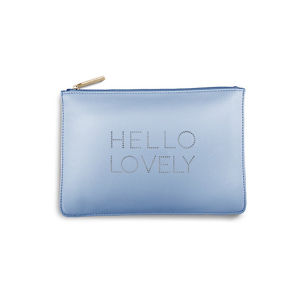 Katie Loxton Polka Dot Pouch - Hello Lovely (Blue)