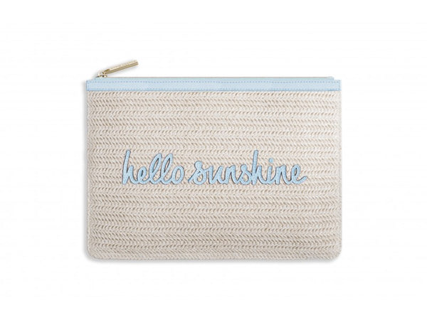 Katie Loxton Coco Clutch - Hello Sunshine (Pale Blue)