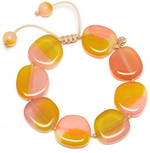 Lola Rose Regan Bracelet - Sunrise Montana Agate