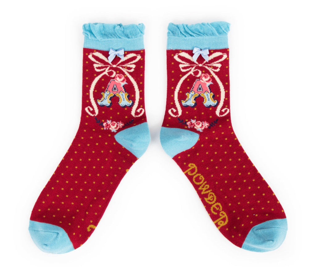 Powder A-Z Socks - A