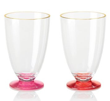 Kate Spade New York 'Salut!' Tumbler Set - Pink/Red