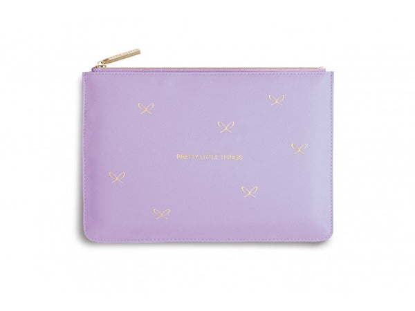 Katie Loxton Perfect Pouch - Pretty Little Things (Lilac)