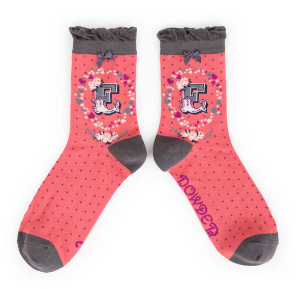 Powder A-Z Socks - E