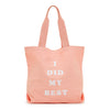 Ban.do Canvas Tote Bag - I Did My Best