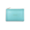 Katie Loxton Perfect Pouch - Adventure Awaits (Metallic Aqua)