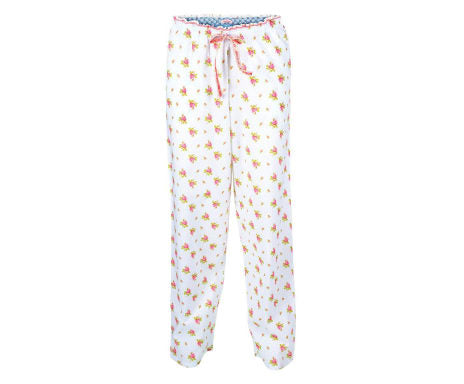 PIP Studio Beth Roses & Dots Long Trousers - White