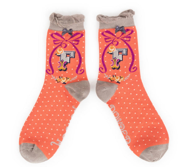 Powder A-Z Socks - F