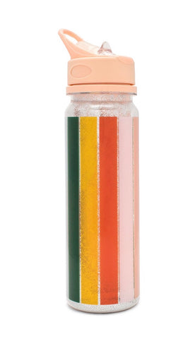 Ban.do Glitter Bomb Water Bottle - Colour Wheel