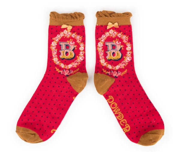 Powder A-Z Socks - B
