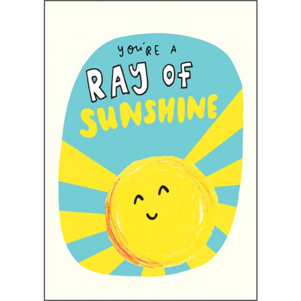 The Happy News Ray of Sunshine Card
