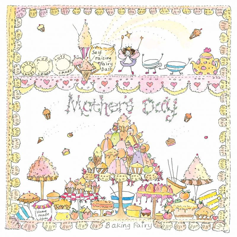 The Porch Fairies Card - Mother's Day