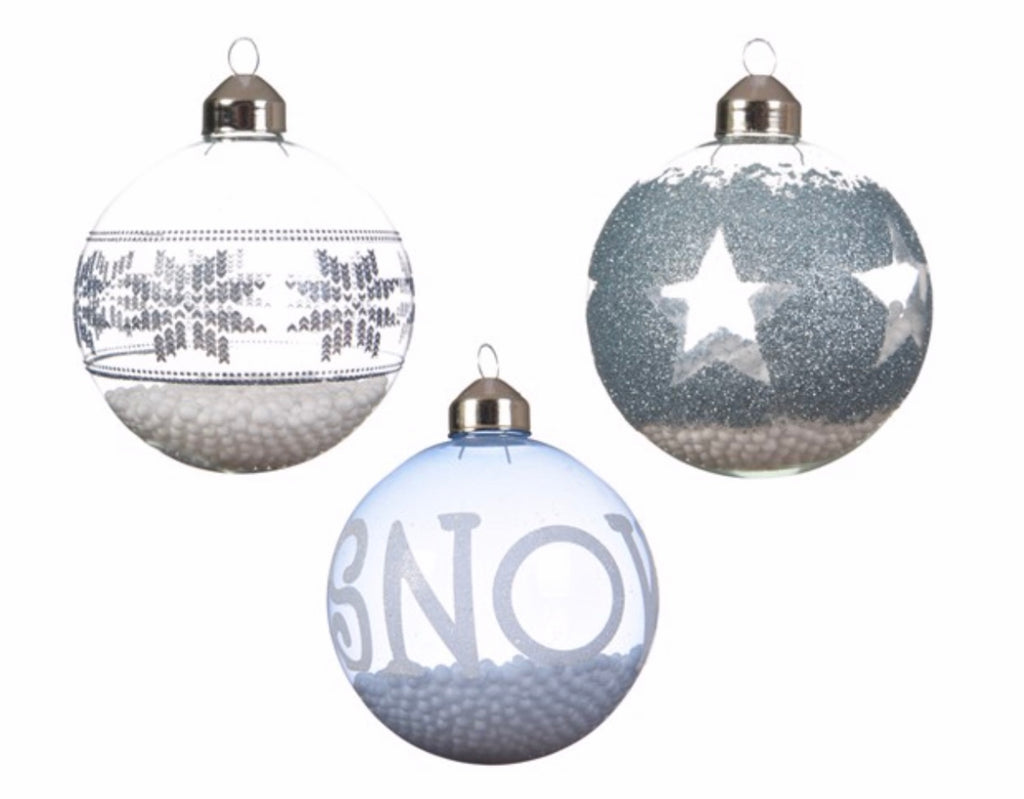 Winter Decal Baubles