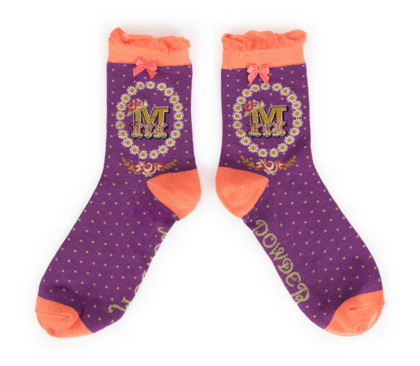 Powder A-Z Socks - M