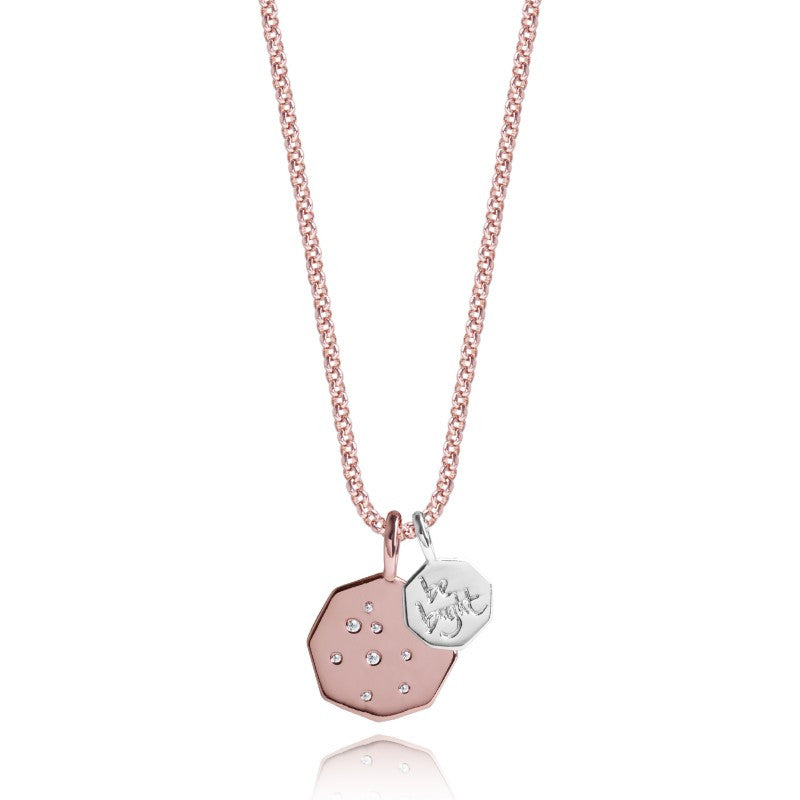 Joma Jewellery Life's A Charm Necklace - Be Bright