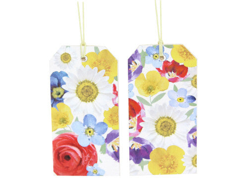 Gisela Graham Daisy Days Wooden Gift Tag