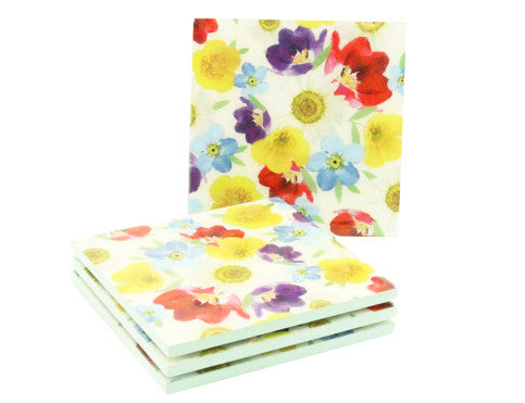 Gisela Graham Daisy Days Set of 4 Coasters