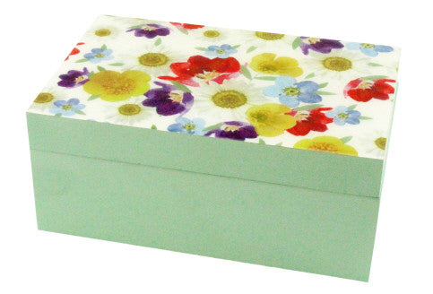 Gisela Graham Daisy Days Wooden Box