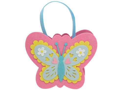 Gisela Graham Felt Butterfly Bag