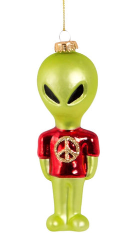 Alvin Alien Intergalactic Hanging Decoration Bauble