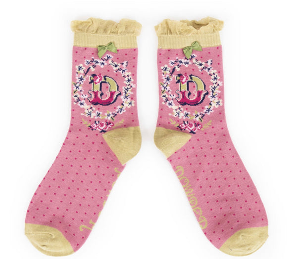 Powder A-Z Socks - D
