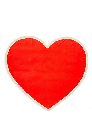 Ban.do Sweetheart Giant Heart Towel