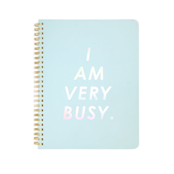 Ban.do Rough Draft Mini Notebook - I Am Very Busy