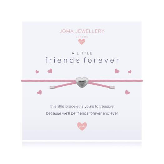 Joma Jewellery Girls A Little Friends Forever Bracelet - Pink