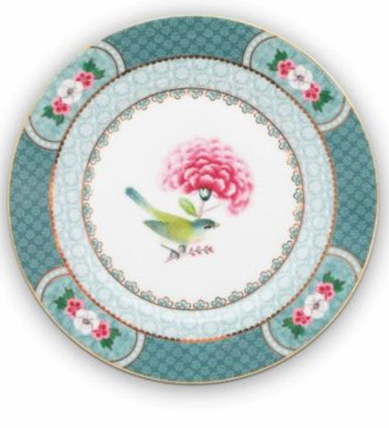 Pip Studio Blushing Birds 17cm Plate - Blue