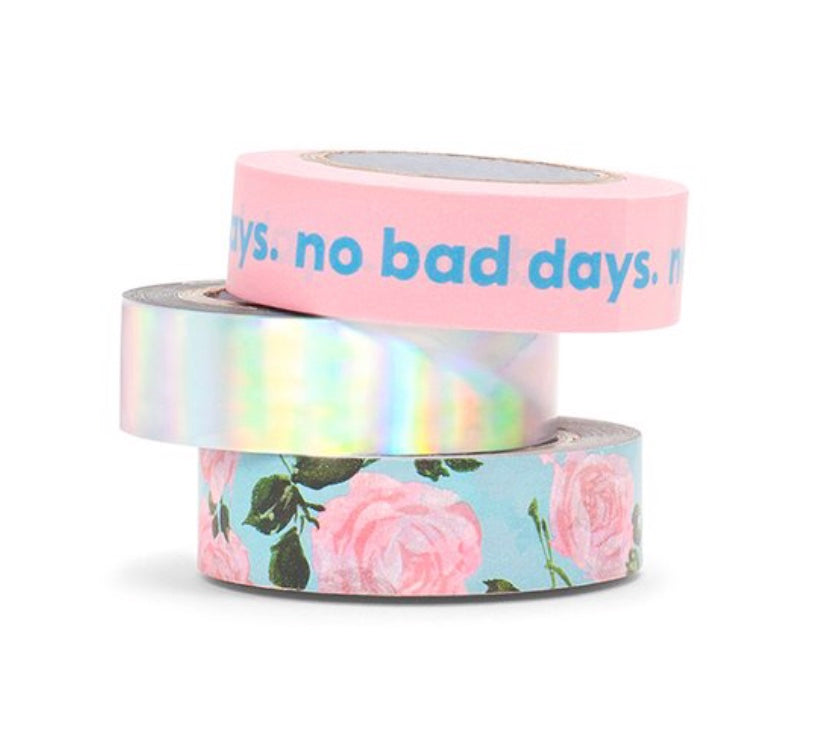 Ban.do Stick With It Paper Tape Set - No Bad Days