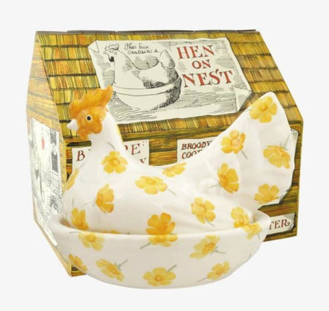 Emma Bridgewater Buttercup Large Hen On Nest