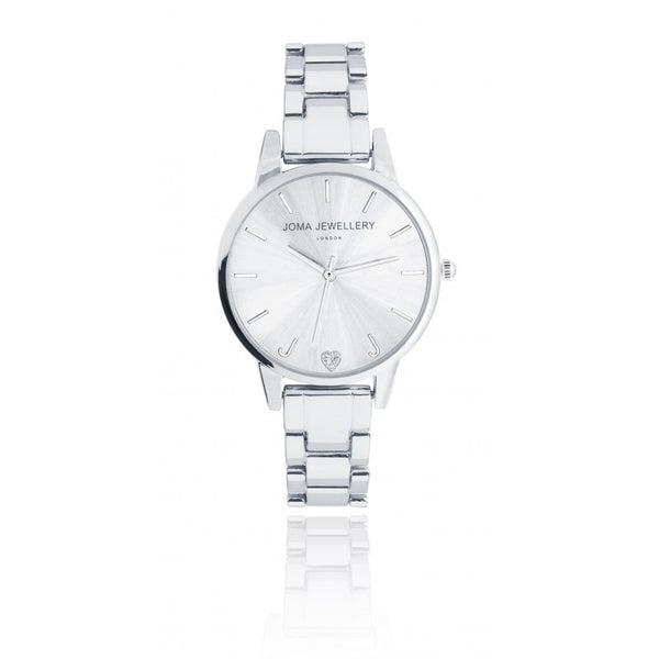 Joma Jewellery Piper Metal Watch - Silver