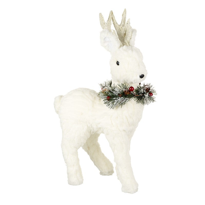 Plush White Deer