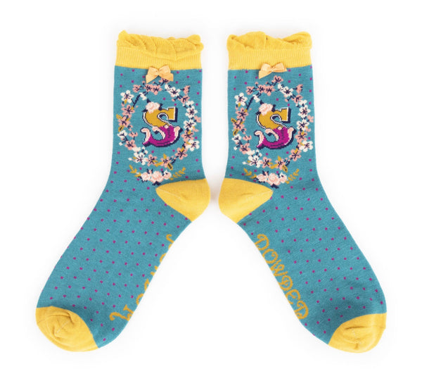 Powder A-Z Socks - S
