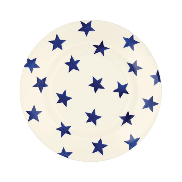 "Emma Bridgewater Blue Star 8 1/2"" Plate"
