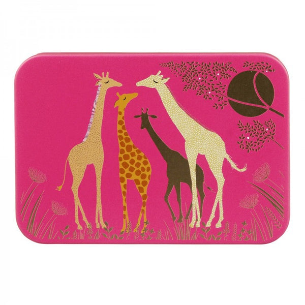 Sara Miller Giraffes Pocket Tin