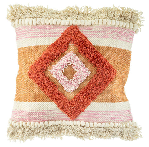 Arizona Tufted Diamond Cushion