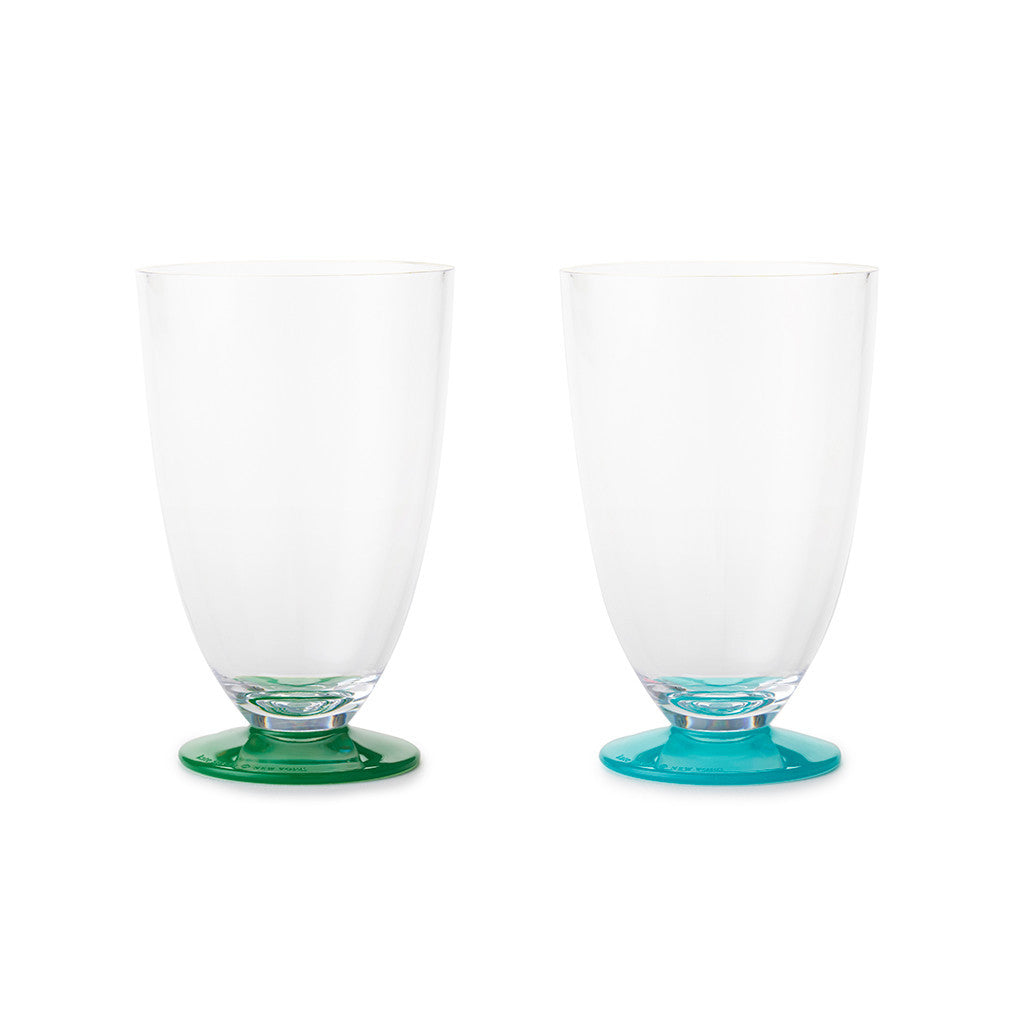 Kate Spade New York 'Salut!' Tumbler Set - Green/Turquoise