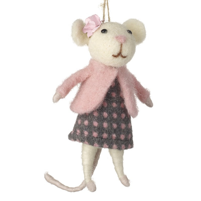 Mouse Lady Decoration