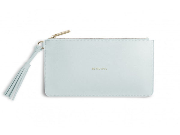 Katie Loxton Florrie Tassel Pouch - Be-You-Tiful (Powder Blue)