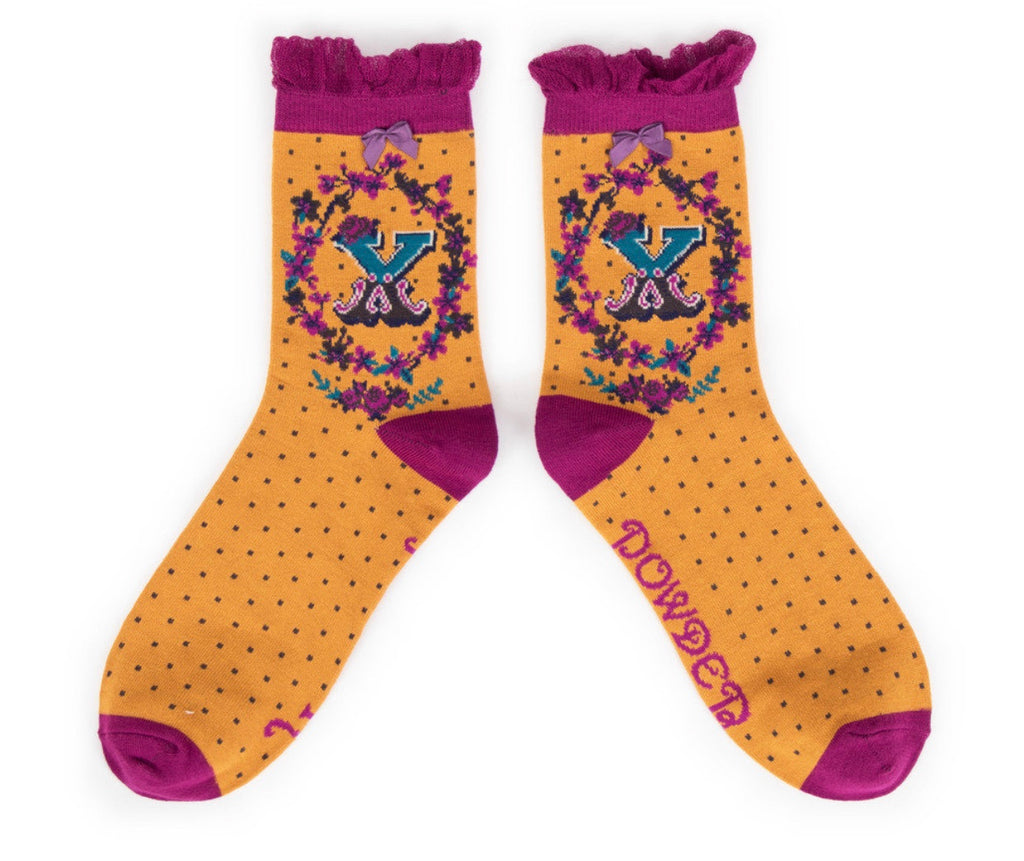 Powder A-Z Socks - X