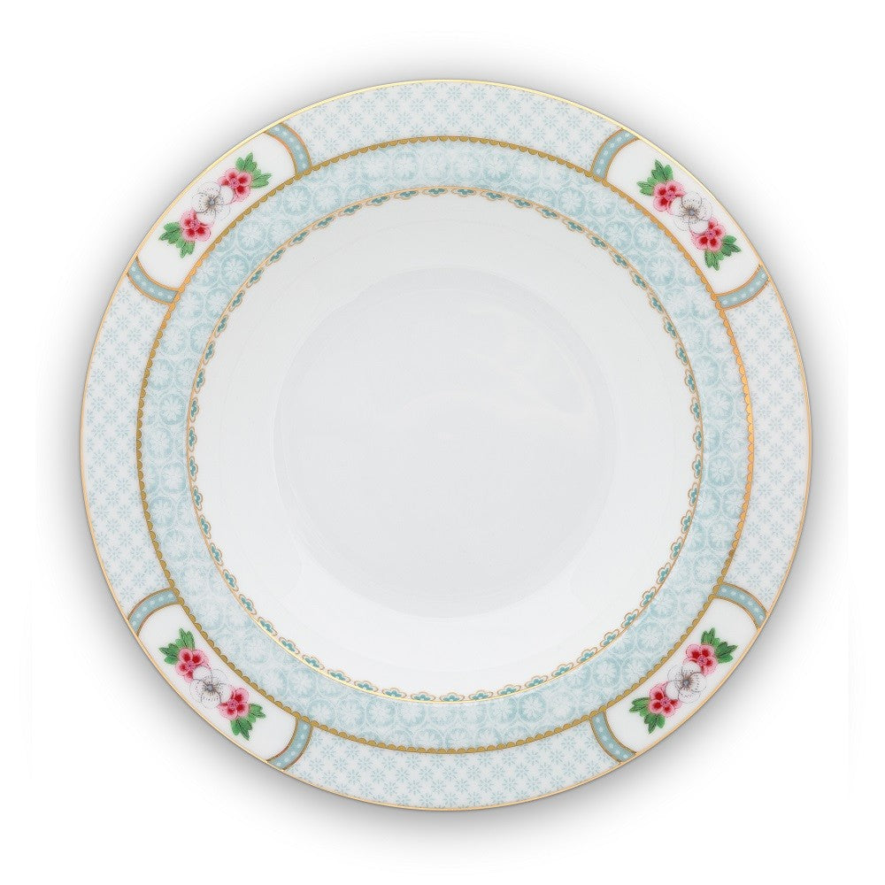 Pip Studio Blushing Birds Soup Plate - White